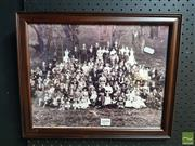 Sale 8552 - Lot 2099 - Family Group Picture
