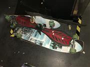 Sale 8663 - Lot 2177 - 2 Skateboards & 2 Rip Sticks