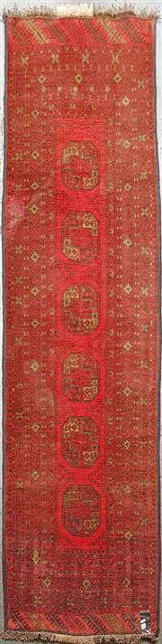Sale 8676 - Lot 1018A - Afghan Qunduzi Runner (295 x 84cm)