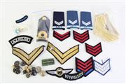 Sale 8952M - Lot 653 - A Small Collection Of Australian Naval Shoulder Straps, Buttons And Patches