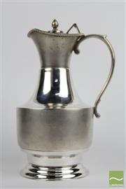 Sale 8481 - Lot 18 - Australian Sterling Silver Water Pitcher