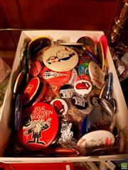 Sale 8582 - Lot 2321 - Box of Badges