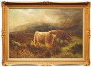 Sale 8642 - Lot 574 - Daniel Sherin (1868 - 1940) - Highland Roxus 60 x 90.5cm