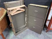 Sale 8672 - Lot 1004 - Vintage Steamer Trunk