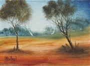 Sale 8704 - Lot 515 - Kevin Charles (Pro) Hart (1928 - 2006) - Landscape 22 x 30cm