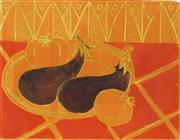 Sale 8847A - Lot 5041 - Andre Bicat (1909 - 1996) - Aubergines 35 x 28cm