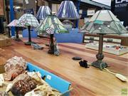 Sale 8629 - Lot 1072 - 4 Lead Light Lamps