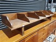 Sale 8765 - Lot 1021 - Large Timber Desk Top File Drawer