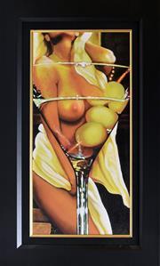Sale 8778A - Lot 5023 - Lona - Martini 48.5 x 78.5cm (frame)