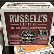 Sale 8801W - Lot 88 - 6x Russells Reserve Single Barrel Bourbon Whiskey 55%, 700ml