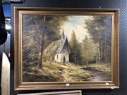 Sale 8861 - Lot 2090 - M. Schmidtler - In the Forest Artwork