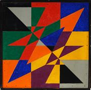 Sale 8947 - Lot 518 - Gunter Christman (1936 - 2013) - Untitled 34 x 34 cm (frame: 36 x 36 x 5 cm)