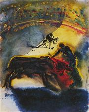 Sale 9081A - Lot 5063 - Salvador Dali (1904 - 1989) - Tauromachia I 28.5 x 22.5 cm (frame: 58 x 50 x 2 cm)