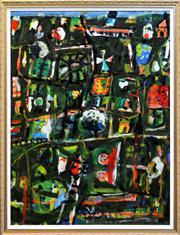 Sale 8344 - Lot 519 - Peter Ferguson (1956 - ) - Untitled, 1988 124 x 92.5cm
