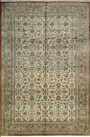 Sale 8338C - Lot 25 - Superfine Kashmiri Silk 184cm x 279cm