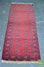 Sale 8404 - Lot 1073 - Afghan Bokhara Runner (190 x 80cm)