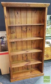 Sale 8424 - Lot 1017 - Pine Open Bookshelf