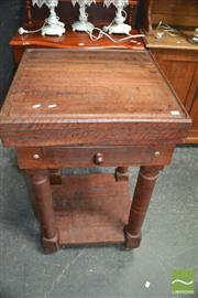 Sale 8431 - Lot 1017 - Butchers Block on Stand