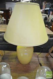 Sale 8440 - Lot 1038 - Ceramic Table Lamp