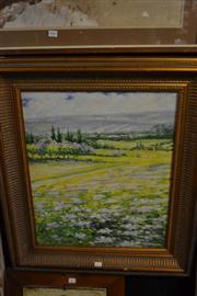 Sale 8453 - Lot 2061 - Artist Unknown, Field Study, Oil