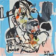 Sale 8903A - Lot 5002 - Yosi Messiah (1964 - ) - Wilderness 102 x 102 cm