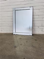 Sale 9080 - Lot 1051 - Mirror Framed Mirror (h:65 x w:91cm)