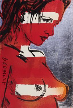 Sale 9099A - Lot 5037 - David Bromley ( 1960 - ) - Romy, 2020 90 x 60 cm
