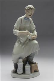 Sale 8673 - Lot 21 - Lladro Figure Of A Chemist Mixing