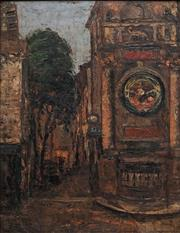Sale 8813 - Lot 553 - Desiderius Orban (1884 - 1986) - Untitled (European Street Scene) 39 x 31cm