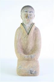 Sale 8869C - Lot 692 - Potted Chinese Figure of Han, H50cm
