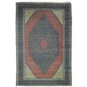 Sale 8913H - Lot 56 - Antique Persian Bidjar Rug, Circa 1940, 130x88cm, Handspun Wool