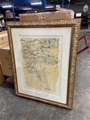 Sale 8990 - Lot 2092 - David Rankin Evening Ocre screenprint, ed.12/70 (126 x 101cm)