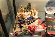 Sale 8308 - Lot 92 - Chinese Ceramic Figures with Other Wares incl. Shoes
