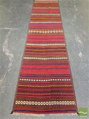 Sale 8472 - Lot 1023 - Persian Kilim Runner (273 x 67cm)