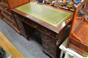 Sale 8489 - Lot 1045 - Twin Pedestal Desk