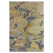 Sale 8913H - Lot 57 - Nepal Organic Washed Design Rug, 230x160cm, Tibetan Highland Wool, Natural Nettle & Chinese Silk