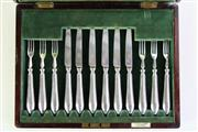 Sale 8989 - Lot 98 - A Flavelle Bros Sydney Entree Suite in Canteen
