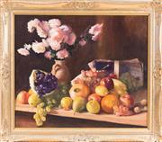 Sale 8341A - Lot 60 - British School C19th - Still Life 51 x 61 cm