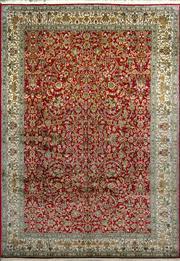 Sale 8338C - Lot 26 - Superfine Kashmiri Silk 187cm x 267cm