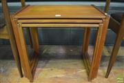 Sale 8364 - Lot 1027 - Danish Teak Nest of Three Tables