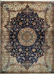 Sale 8370C - Lot 68 - Superfine Kashmiri Silk 250cm x 335cm