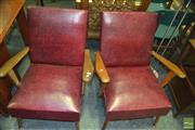 Sale 8383 - Lot 1457 - Pair of Retro Lounge Chairs