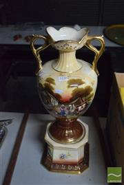 Sale 8518 - Lot 2330 - Hand Painted English Urn