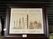 Sale 8552 - Lot 2065 - Titanic Comparison Print