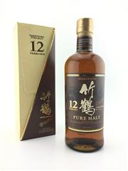 Sale 8571 - Lot 714 - 1x Nikka Whisky 12YO Taketsuru Pure Malt Japanese Whisky - 40% ABV, 700ml in box