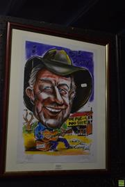 Sale 8569 - Lot 2082 - Slim Dusty Limited Edition Print
