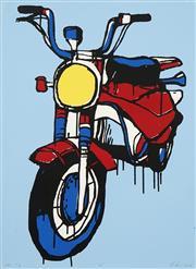 Sale 8764A - Lot 5036 - Jasper Knight (1978 - ) - 110, 2018 77 x 55.5cm (frame: 91 x 70cm)