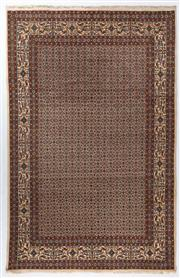 Sale 8372C - Lot 66 - An Iranian Rug, Khorasan Region With Medallion Centre, Very Fine Wool And Silk Pile, 302 x 200cm