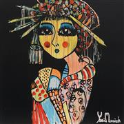 Sale 8826A - Lot 5041 - Yosi Messiah (1964 - ) - Golden Goddess 102 x 102cm