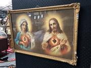 Sale 8819 - Lot 2064 - Framed Religious Print